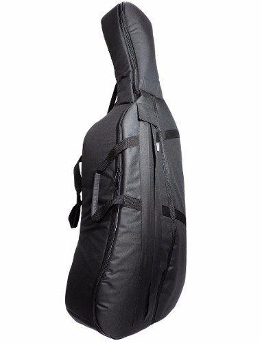 Capa Violoncelo Cello Reforçada Extra Luxo 4/4 - 3/4 - 1/2