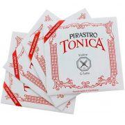 Encordoamento Pirastro Tonica Violino 4/4 -Nova Fórmula