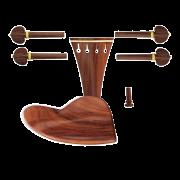 Montagem para Violino 4/4 com Queixeira modelo Berber