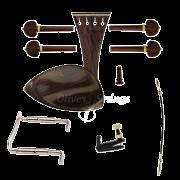 Kit de montagem para violino 4/4 com Queixeira modelo Teka Completo