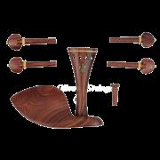 Montagem Para Violino 4/4 Rosewood Flor de Lis