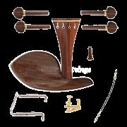 Kit de montagem para violino 4/4 com Queixeira Guarneri