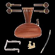 Kit de montagem para violino 4/4 com Queixeira Modelo Central