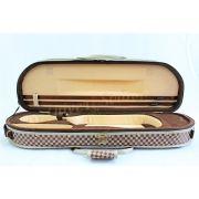Estojo Case Térmico Para Violino 4/4 Meia Lua Luxo