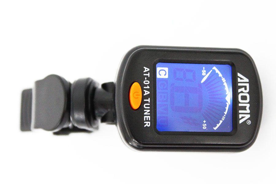 Afinador Cromatico Digital Clip