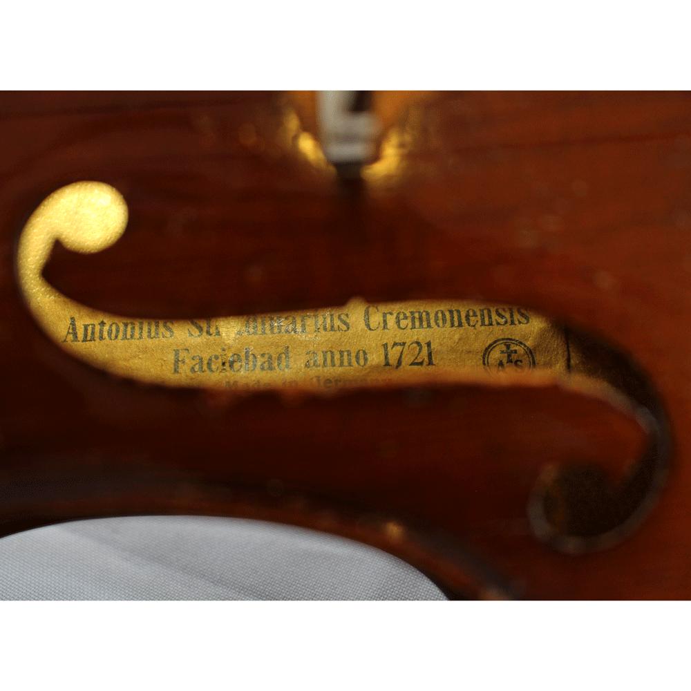 Antonio Straduarius Cremonensis Faciebad 1721 Alemão