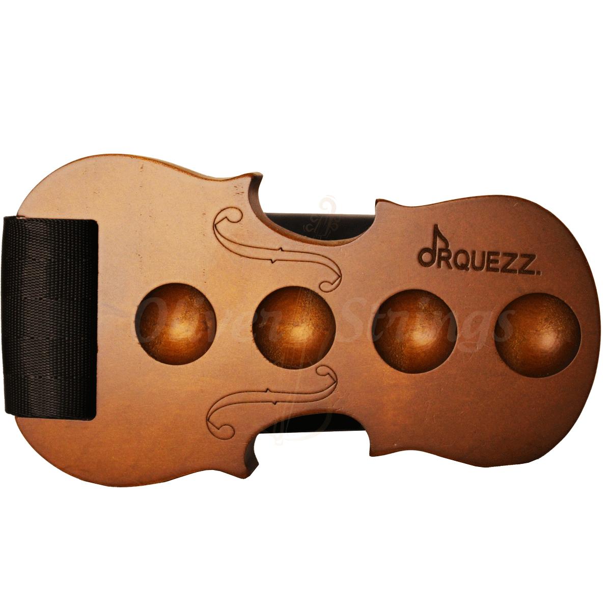 Apoio para espigão em madeira cello body