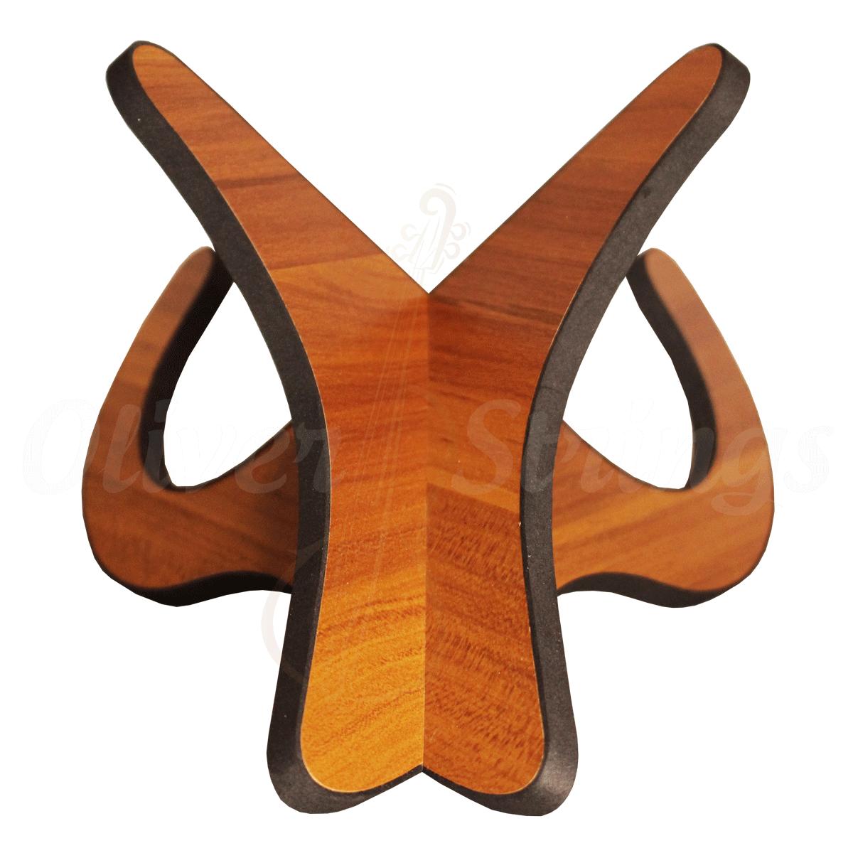 Apoio para ukulele/violino estrela em madeira
