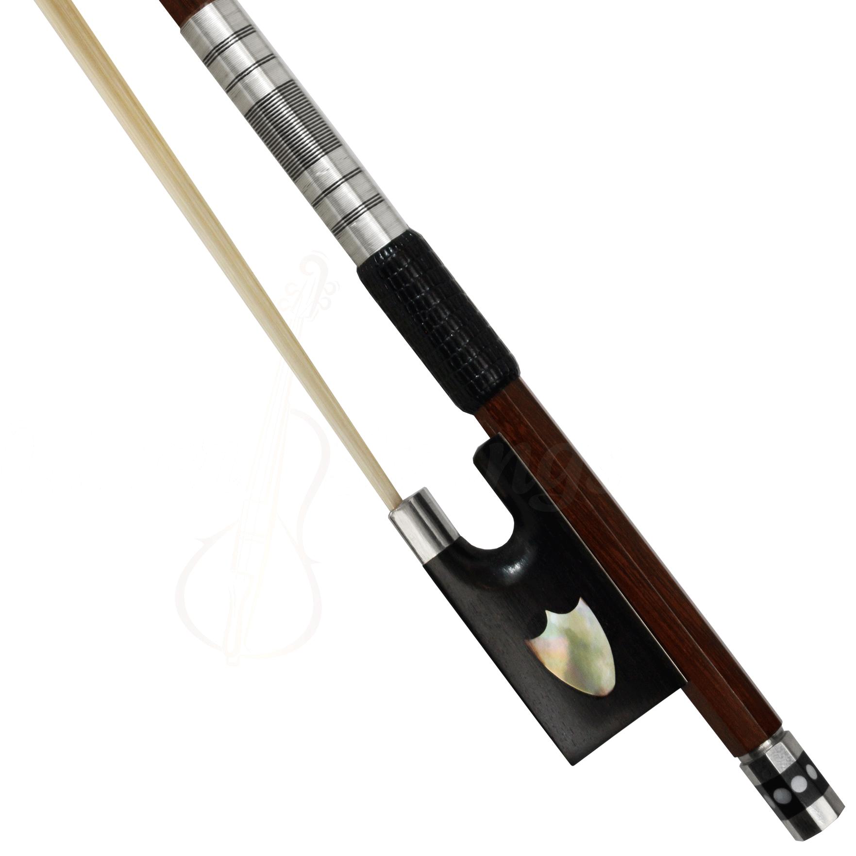 Arco em pau brasil modelo escudo para violino 4/4
