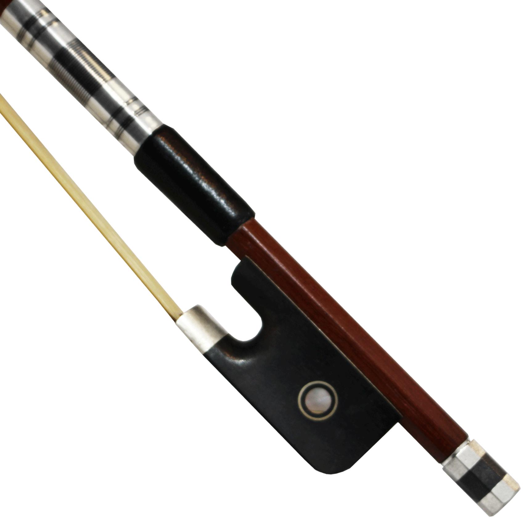 Arco Estudante Oitavado Cromado Cello Violoncelo 4/4