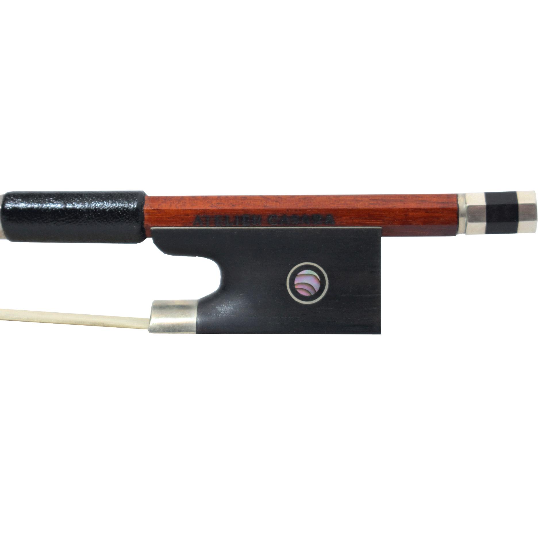 Arco Oitavado Profissional Atelier Casara Pau Brasil Violino 4/4