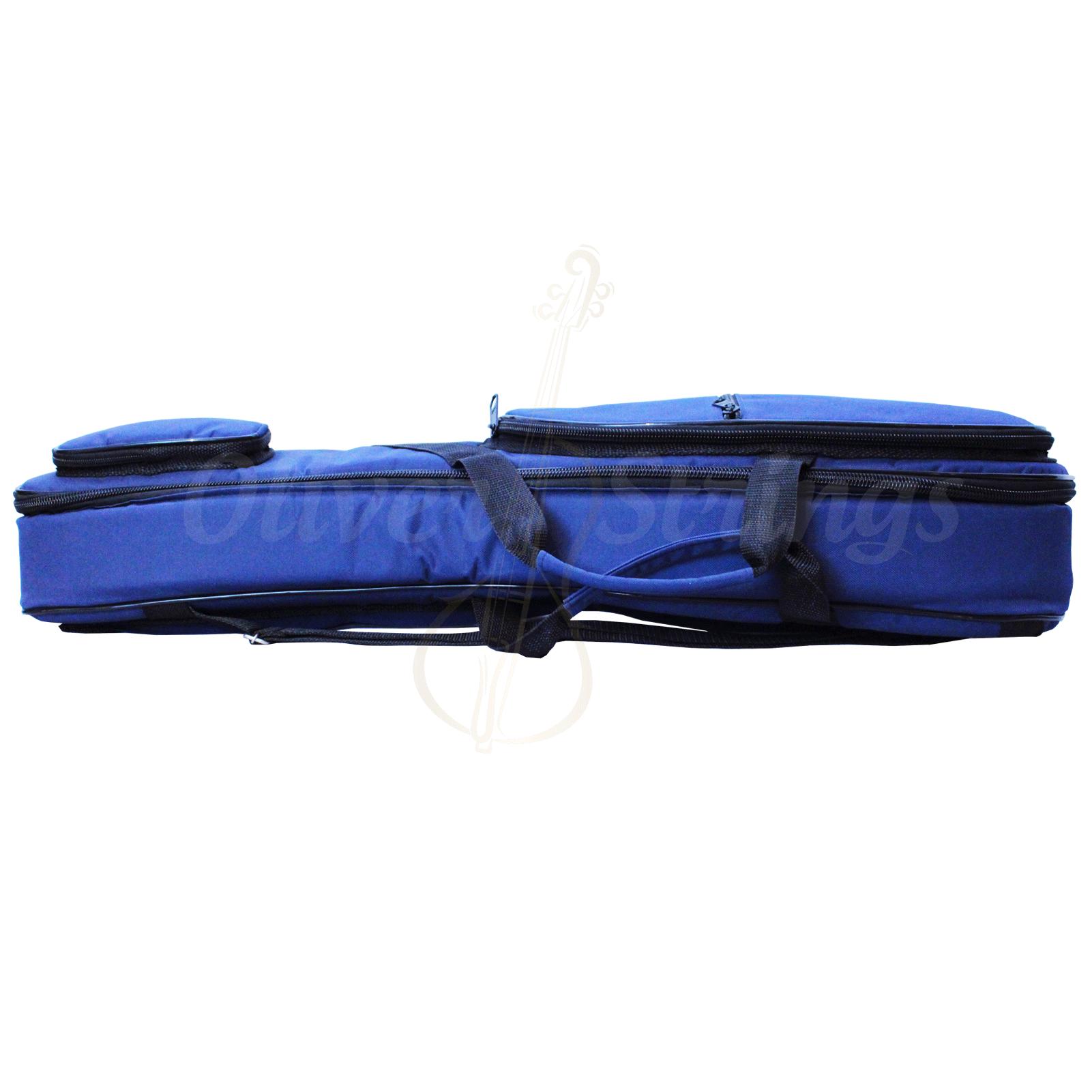 Capa Violino Extra Luxo Reforçada Para Violino 3/4 Ou 4/4