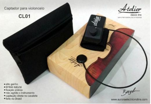 CAPTADOR PARA VIOLONCELO CELLO ATELIER AUDIO