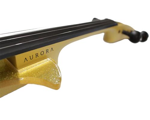 VIOLINO PROFISSIONAL 4/4 ELÉTRICO AURORA CLASS GOLD
