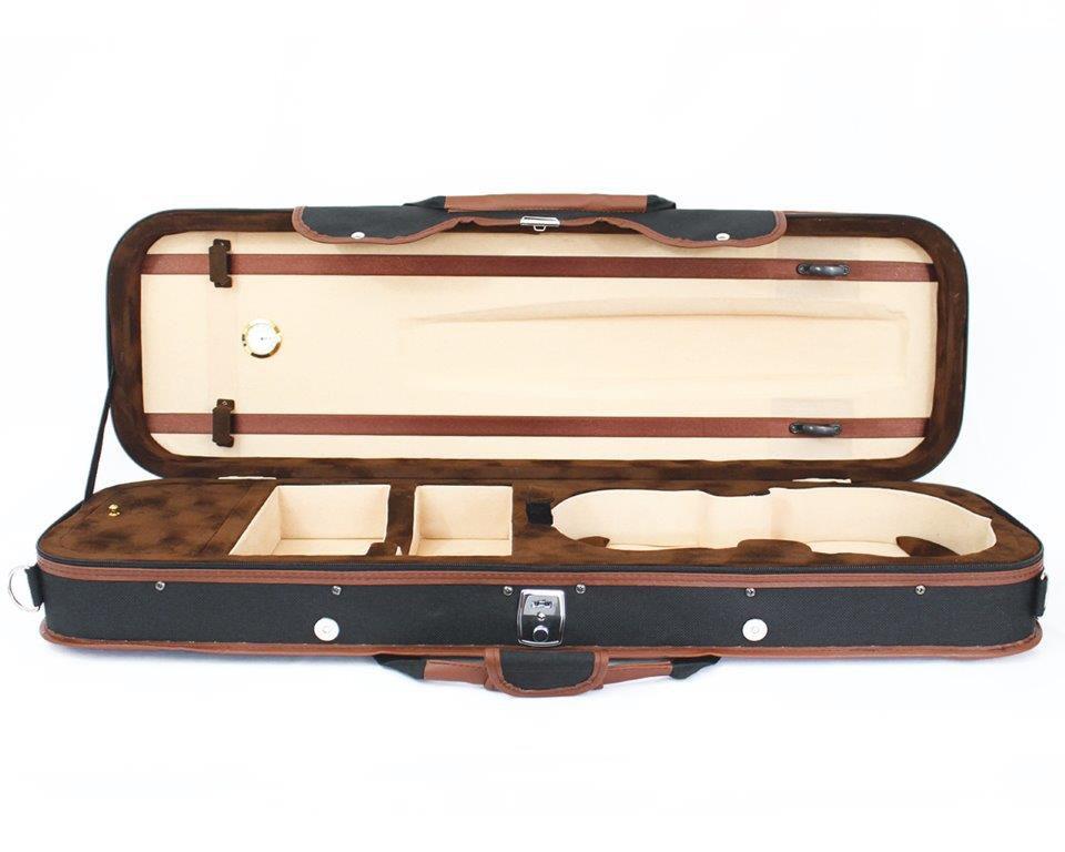 Estojo Case Térmico Retangular Lux Para Violino 4/4