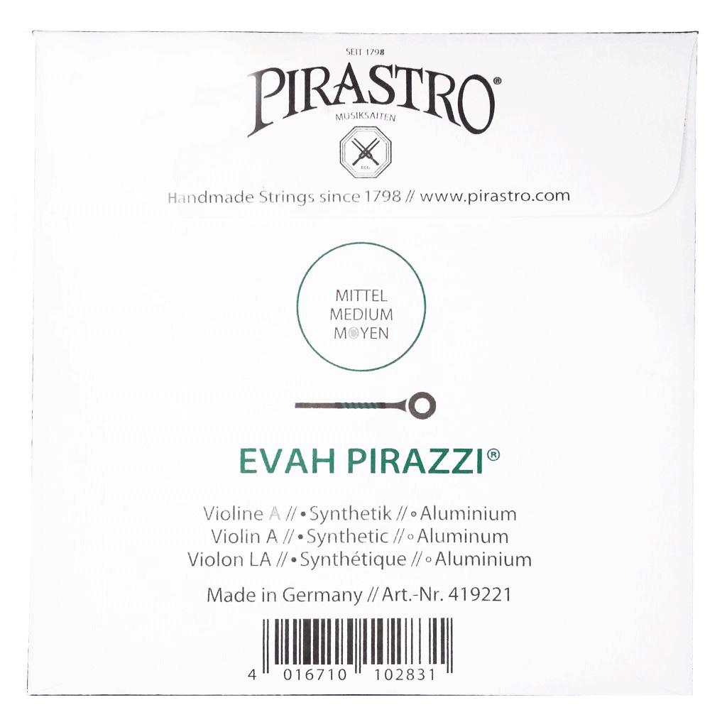 Corda Avulsa Lá Violino 4/4 - Pirastro Evah Pirazzi