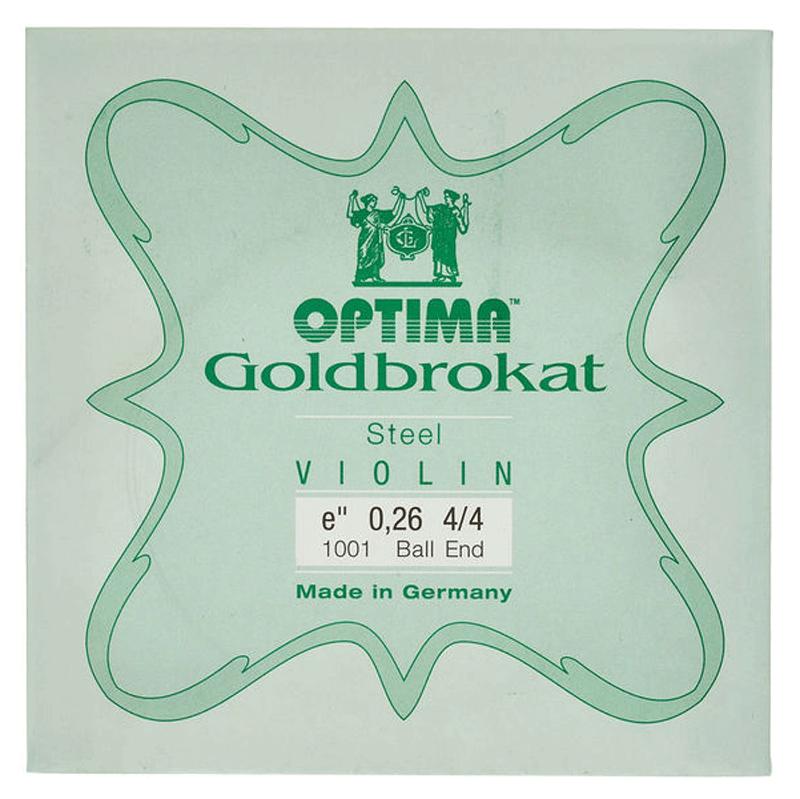 Corda Avulsa Mi Optima Goldbrokat Violino 4/4