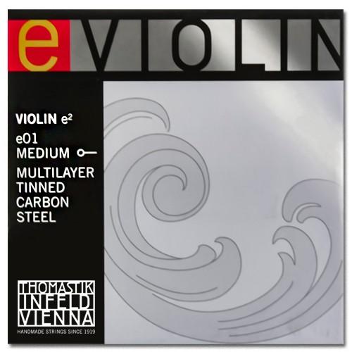 Corda Mi Avulsa para Violino 4/4 - Thomastik E01