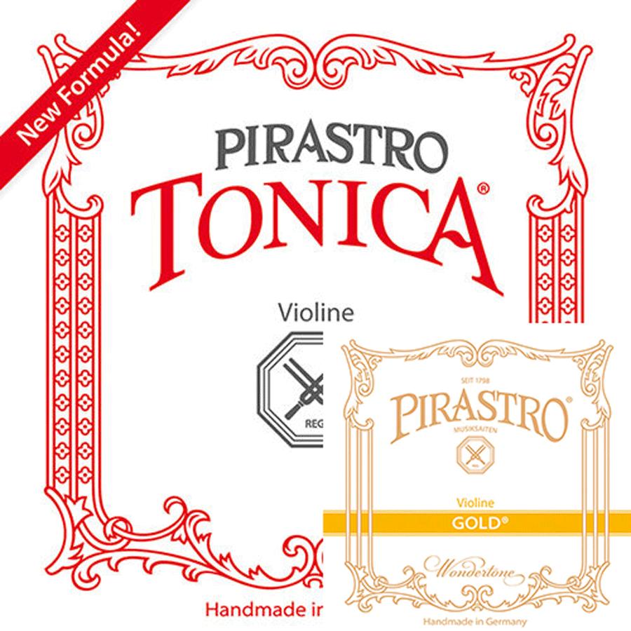 Encordoamento Cordas Pirastro Tonica Gold Violino 4/4