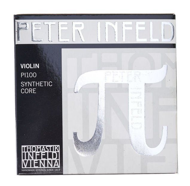 Encordoamento Cordas Violino 4/4 - Thomastik Peter Infeld - Mi Platinum