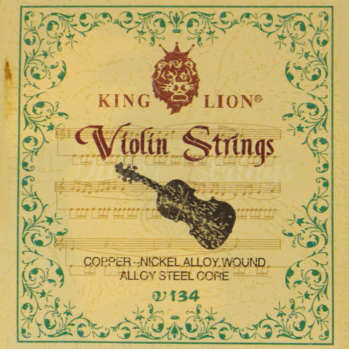 Encordoamento King Lion para Violino 4/4
