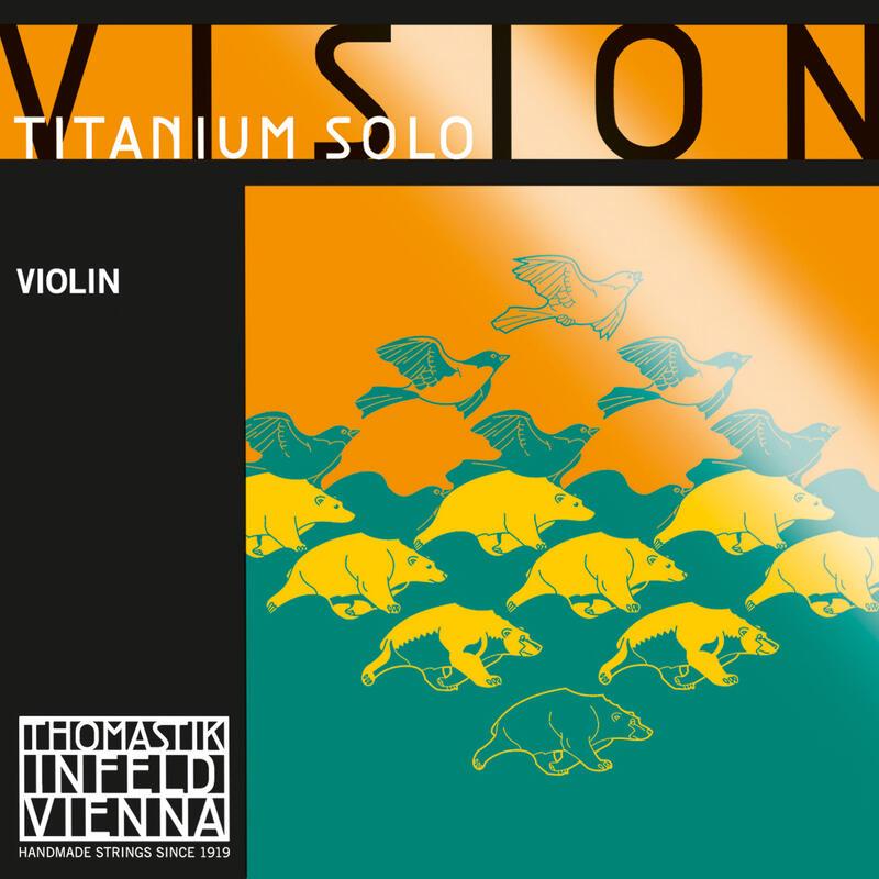 Encordoamento Thomastik Vision Solo Titanium VIT01 Violino 4/4