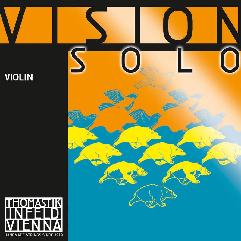 Encordoamento Thomastik Vision Solo VIS100 Violino 4/4