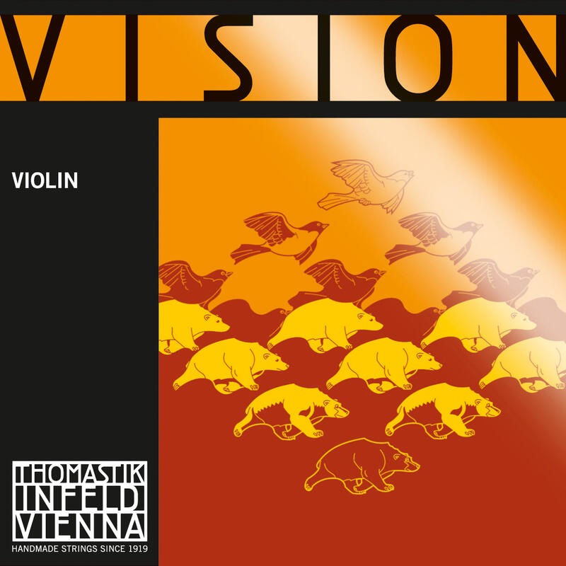 Encordoamento Thomastik Vision VI100 Violino 4/4