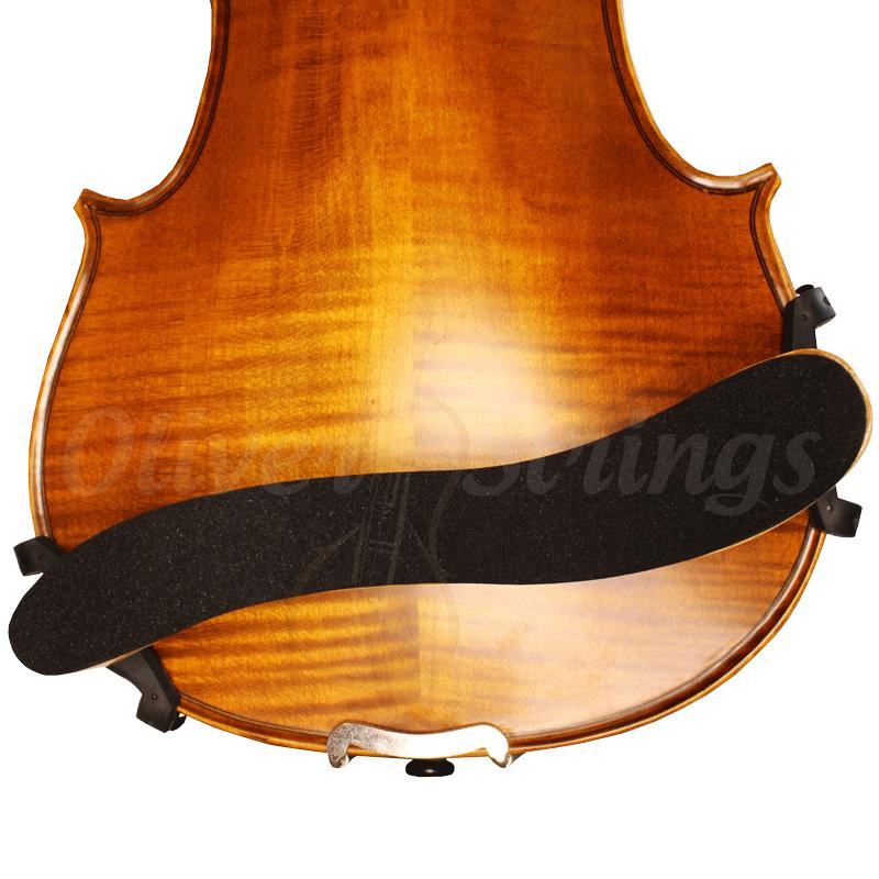 Espaleira em madeira natural para violino