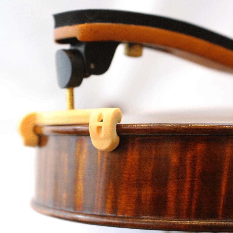 Espaleira Madeira Rajada Orquezz Violino 4/4