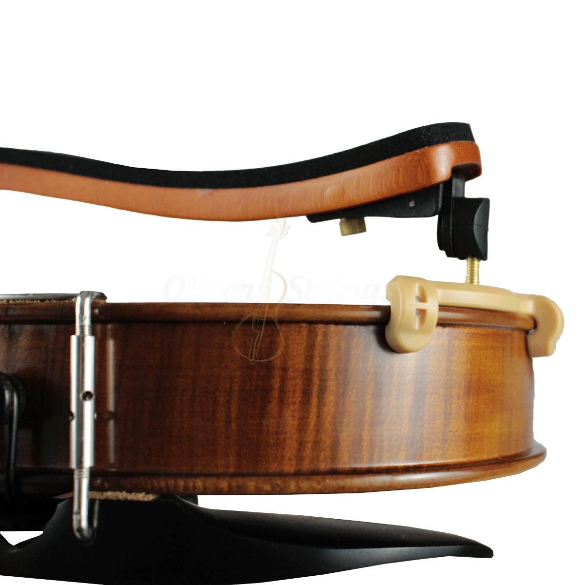 Espaleira ORQUEZZ Ajustável de Madeira Maciça para Violino