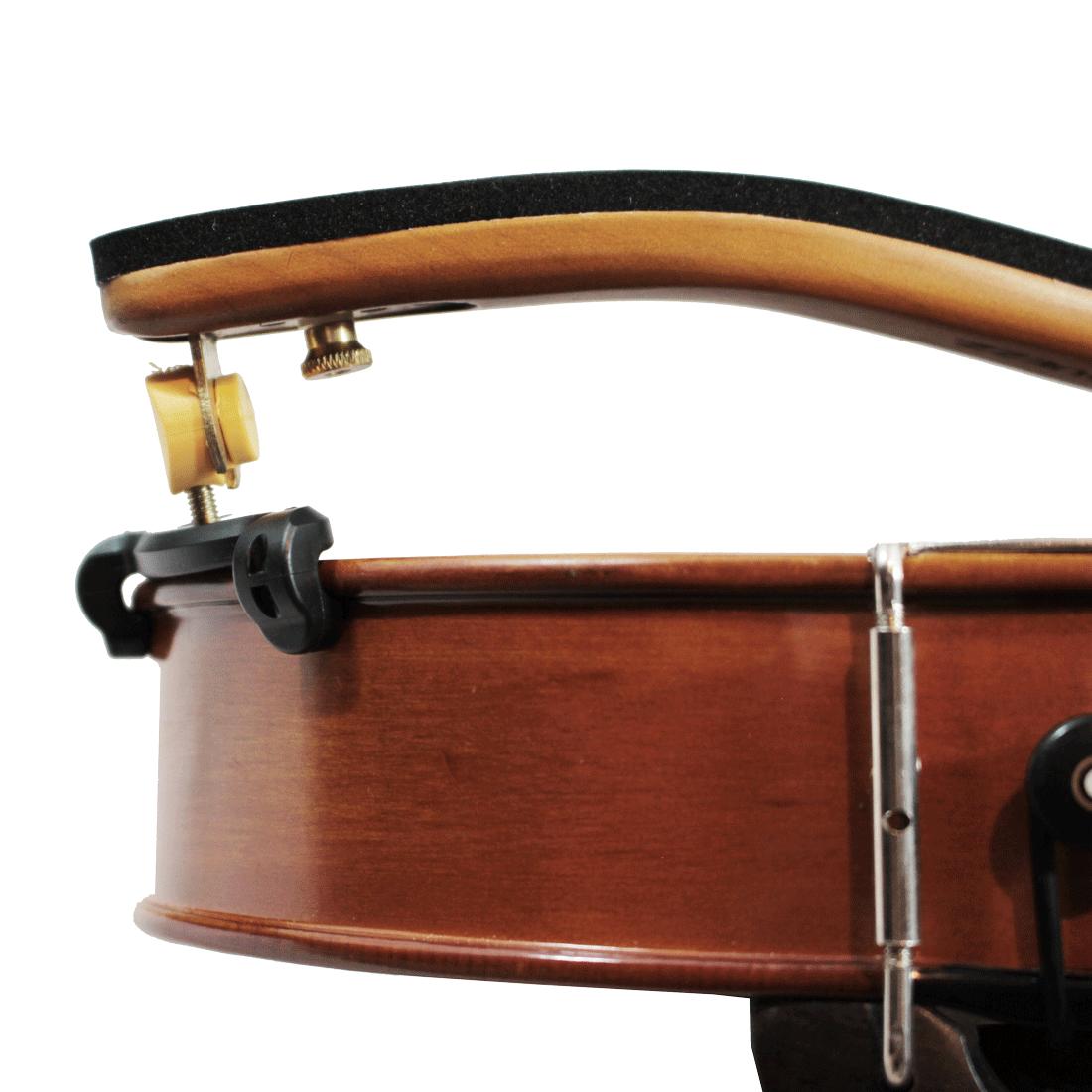 Espaleira Profissional Para Viola 15 - 16 - Madeira