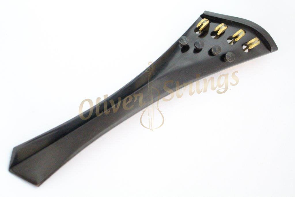 Estandarte em Ébano modelo Harpa semi Hill com fixos embutidos para Cello