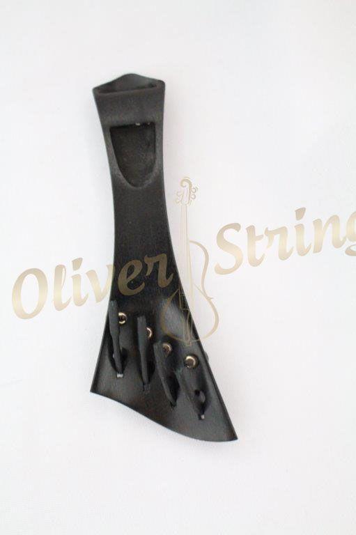 Estandarte em Ébano modelo Harpa semi Hill com fixos embutidos para violino