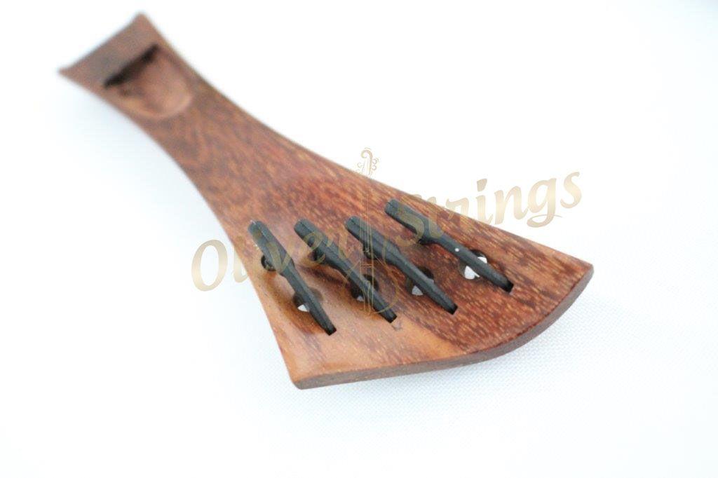 Estandarte em Tamarindo modelo Harpa semi Hill com fixos embutidos para violino