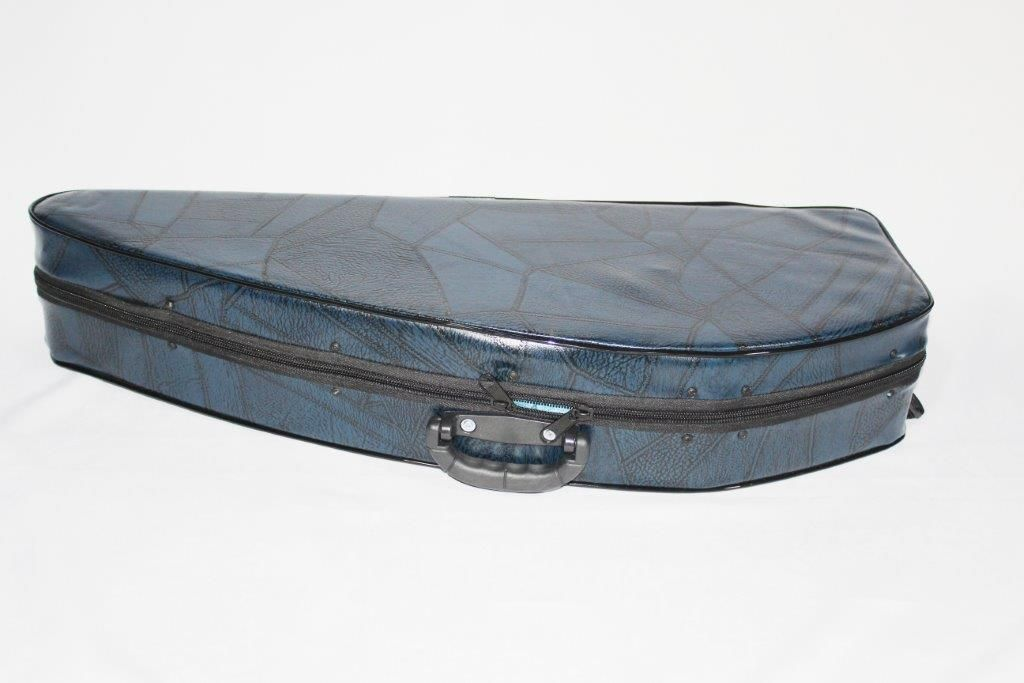 Estojo Azul Para Violino 4/4 Modelo Luxo