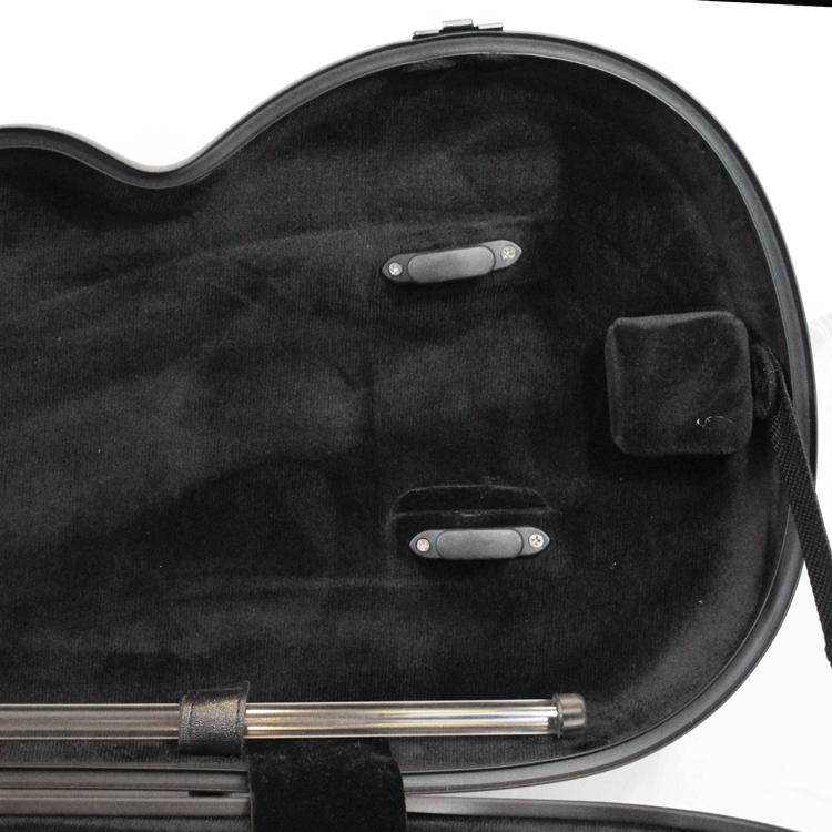 Estojo Case em Fibra Carbono Cinza para Violino 4/4