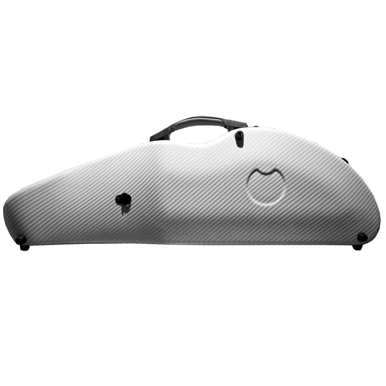Estojo Case Fibra De Vidro Violino 4/4 Branco