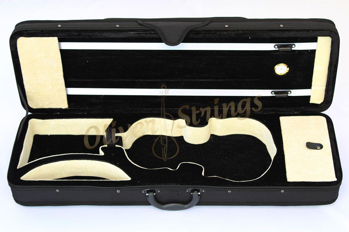 Estojo Case Térmico C/Higrômetro Retangular Para Violino 4/4