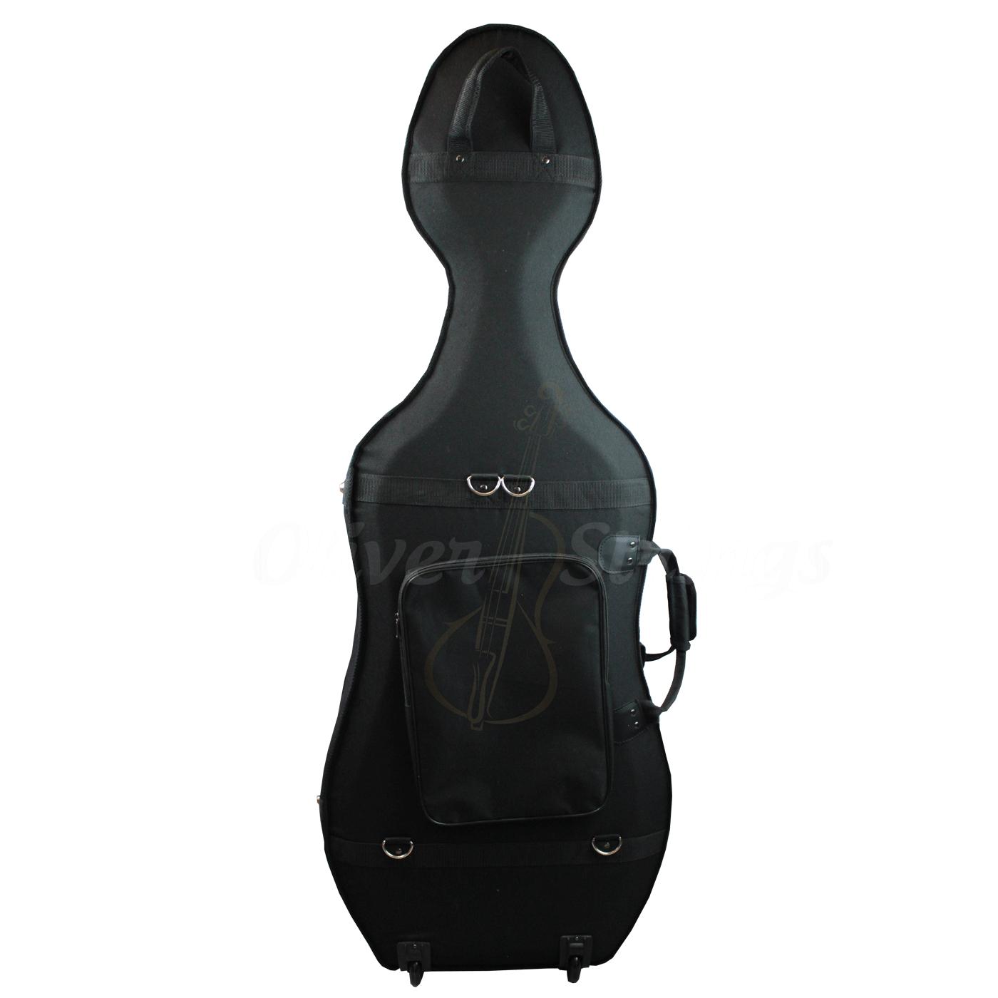 Estojo luxo para violoncelo na cor preta