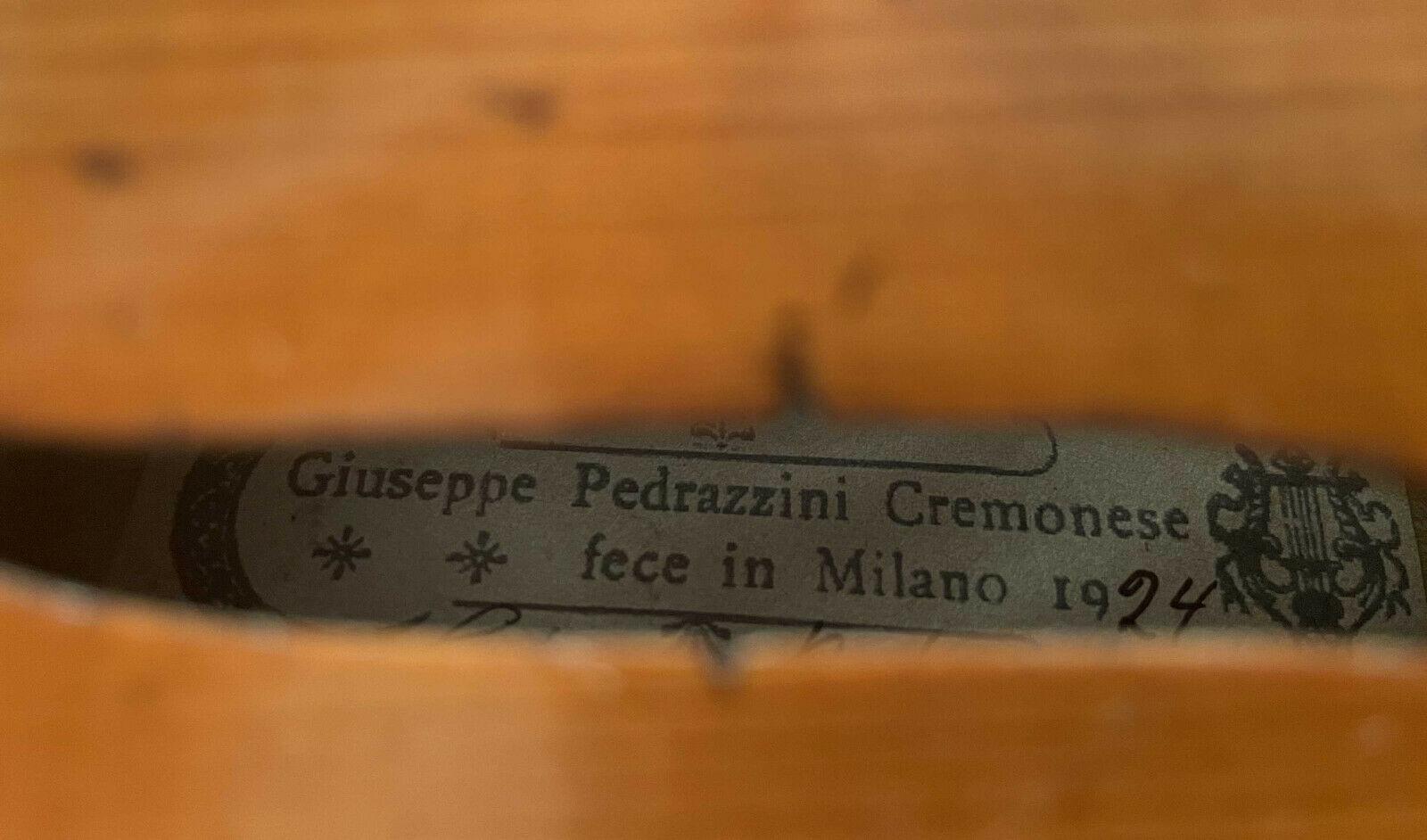 Giuseppe Pedrazzini Cremonese Feito em Milão (Itália)  1924 Gius