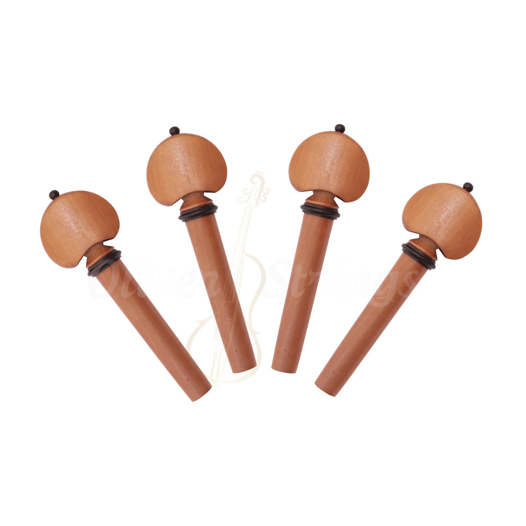 Kit de Cravelhas em Boxwood para violino modelo Hill