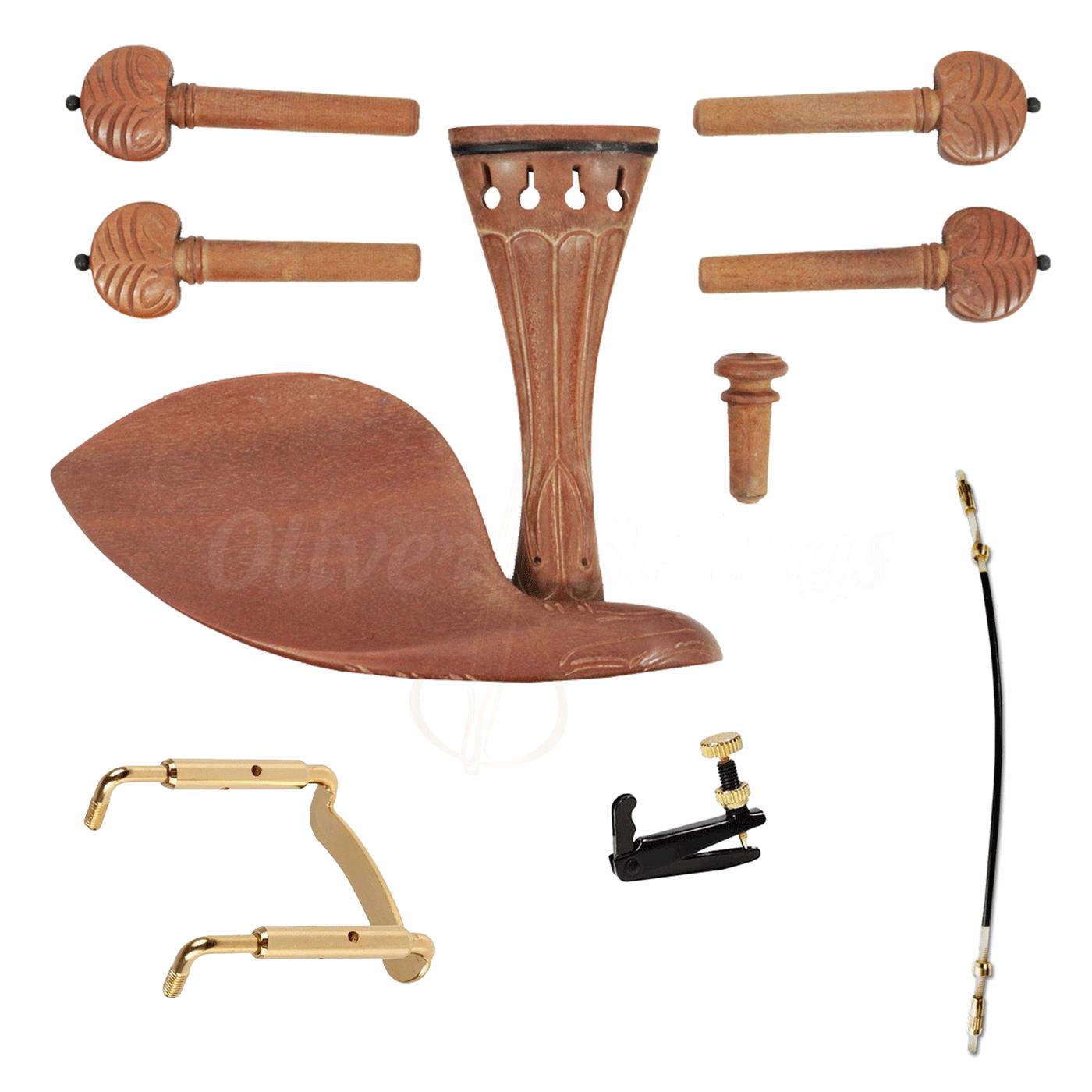 Kit de montagem Jujuba esculpido para Violino 4/4 Completo