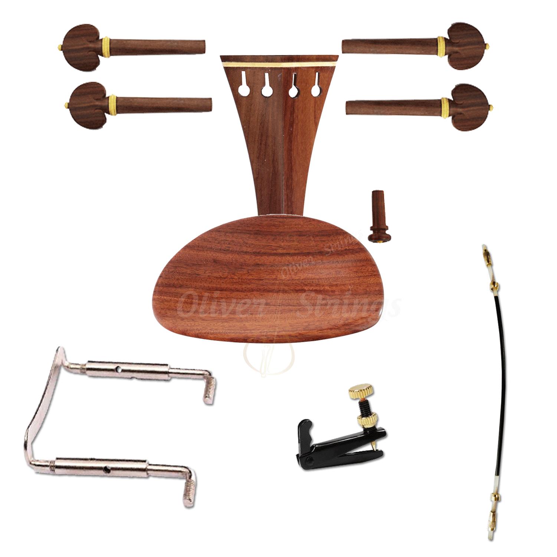 Kit de montagem para violino 4/4 com Queixeira Modelo Central Completo