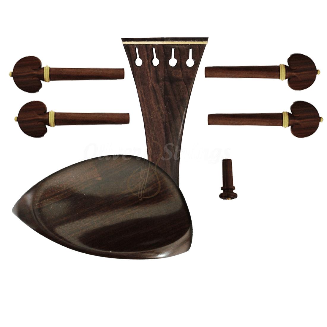 Montagem para violino 4/4 com Queixeira modelo Teka