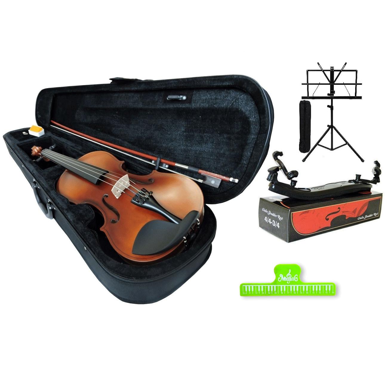 Kit Viola De Arco 40 Cm Orquezz Iniciante + Acessórios