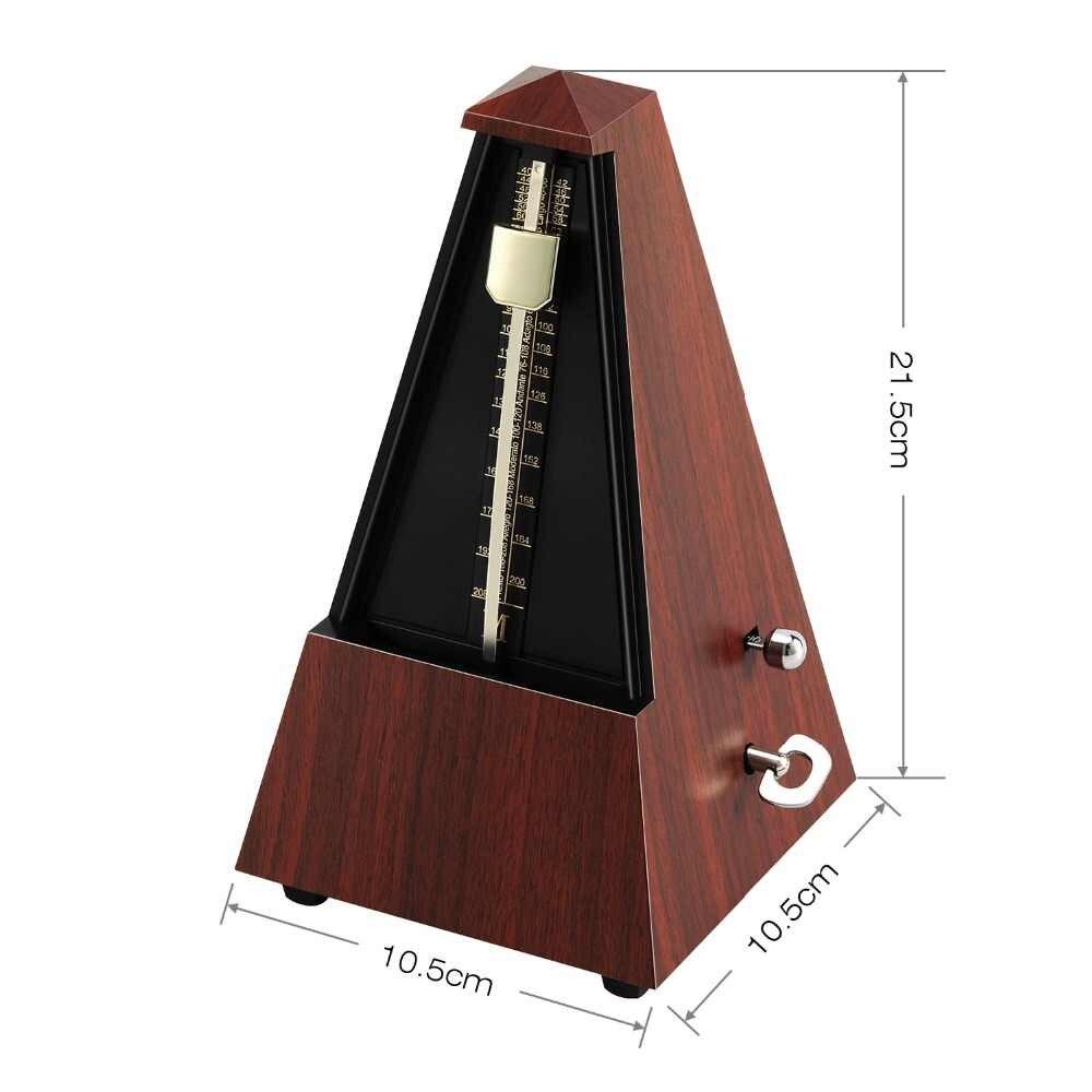 Metrônomo Mecânico Analógico Pendulo Clássico Universal