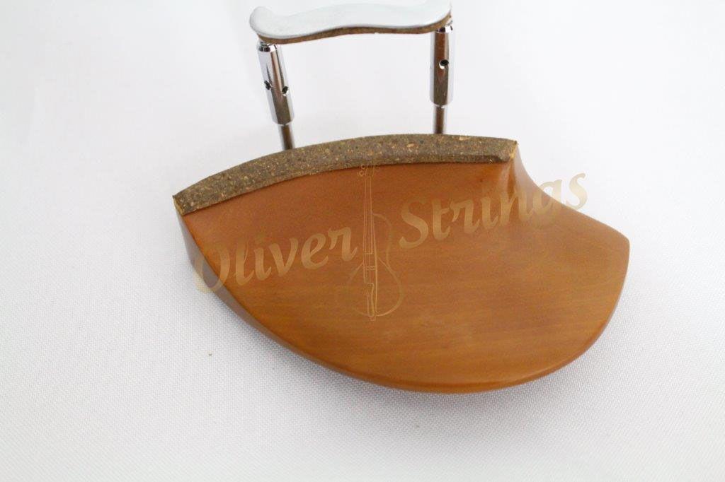 Queixeira de Boxwood para violino modelo Teka
