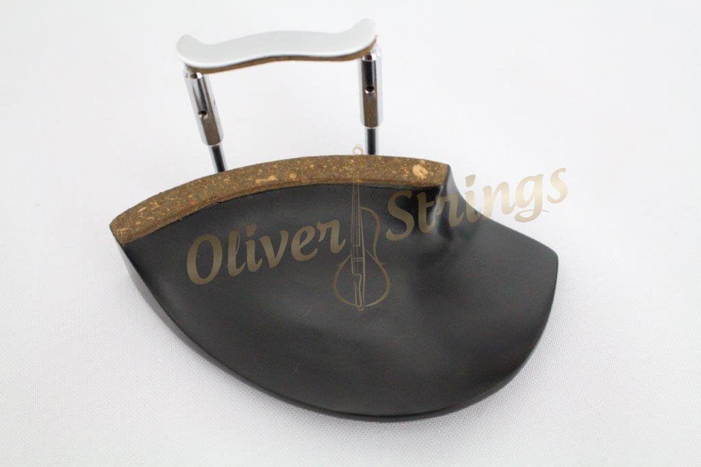 Queixeira de Ébano para violino modelo Teka