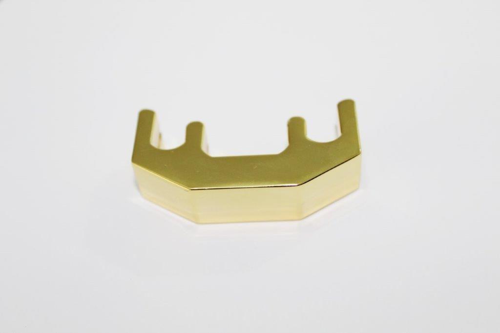 Surdina De Metal Dourado Para Violino 3/4 E 4/4